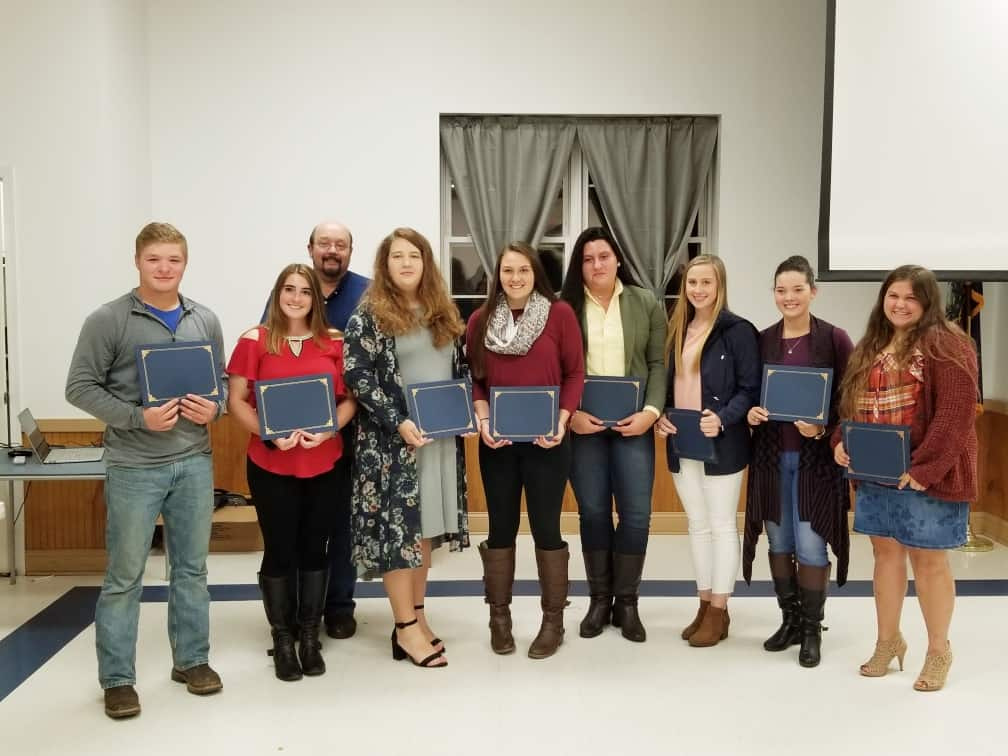 Scholarship Winners 2019